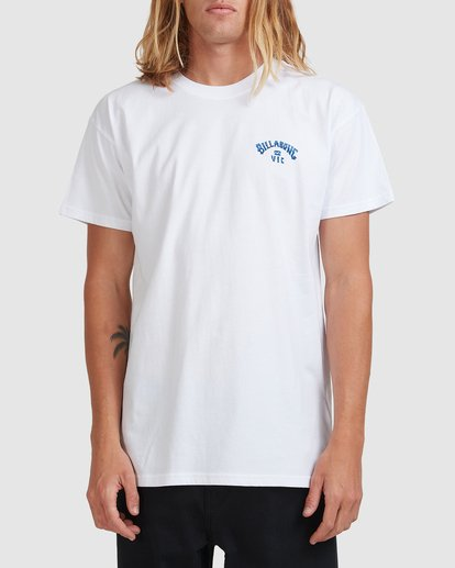 0 VIC State Mate Tee White 9508087 Billabong