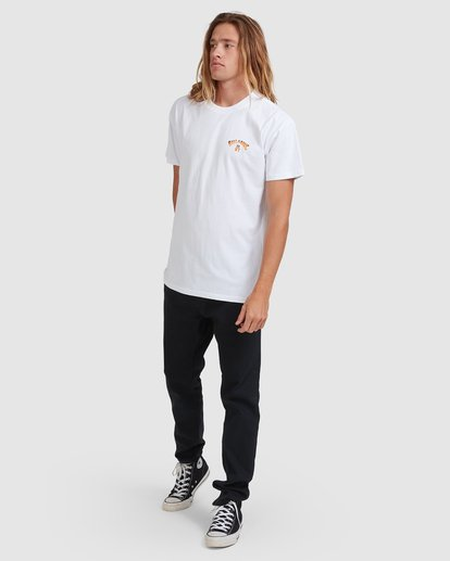 6 NT STATE MATE TEE White 9508090 Billabong