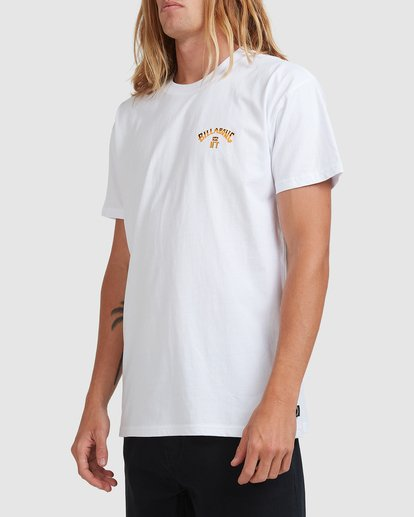 1 NT STATE MATE TEE White 9508090 Billabong