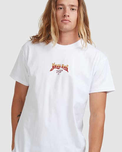 3 No Wokkas Tee White 9508092 Billabong
