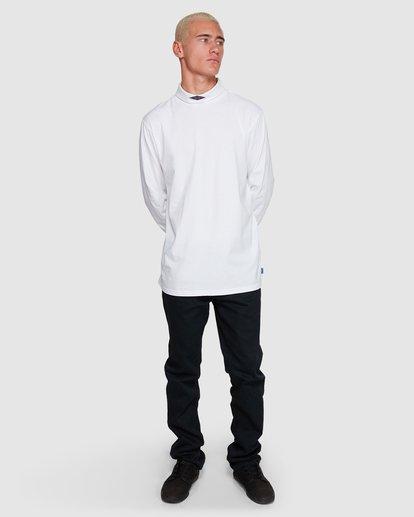6 Fold Em Long Sleeve Tee White 9508170 Billabong