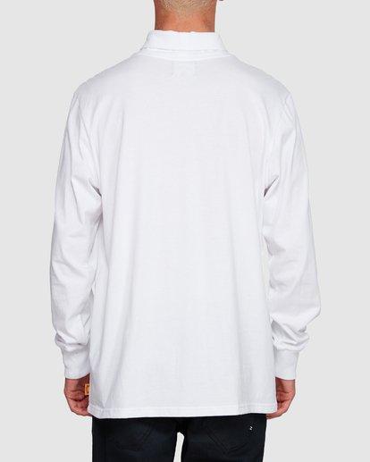 3 Fold Em Long Sleeve Tee White 9508170 Billabong