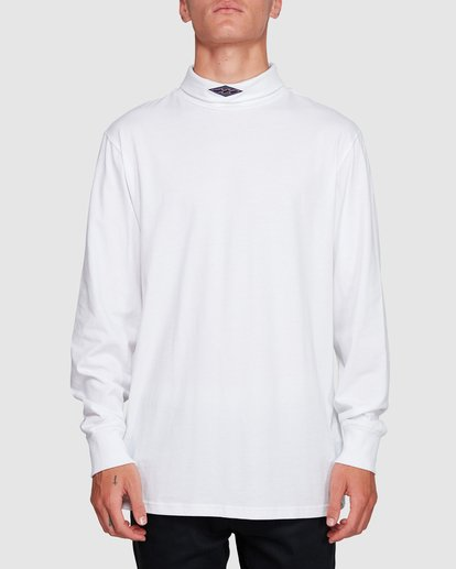 0 Fold Em Long Sleeve Tee White 9508170 Billabong