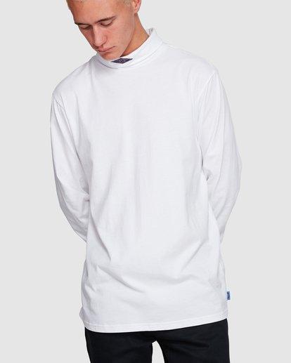 1 Fold Em Long Sleeve Tee White 9508170 Billabong