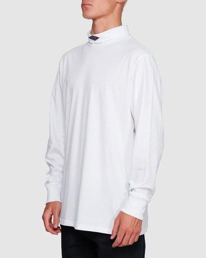 2 Fold Em Long Sleeve Tee White 9508170 Billabong