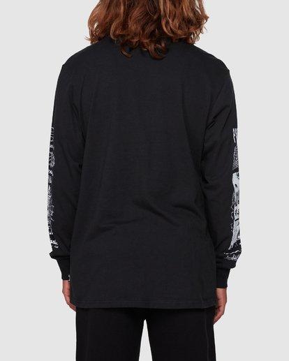3 Pure Filth Long Sleeve Tee Black 9508171 Billabong