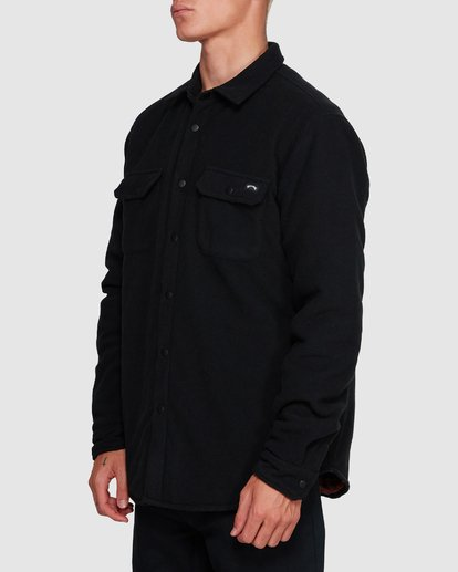 2 Nevermind Long Sleeve Flannel Shirt Black 9508203 Billabong