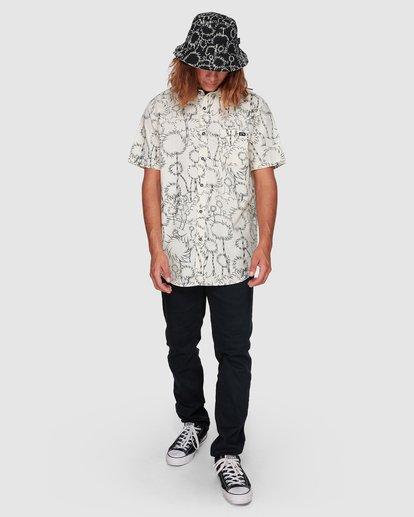6 Dr. Seuss Truffula Short Sleeve Shirt Grey 9508220 Billabong