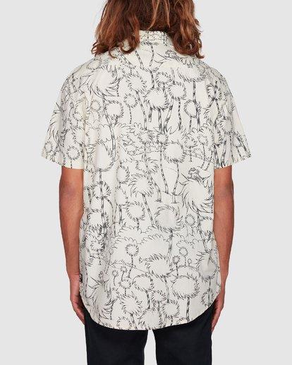 3 Dr. Seuss Truffula Short Sleeve Shirt Grey 9508220 Billabong