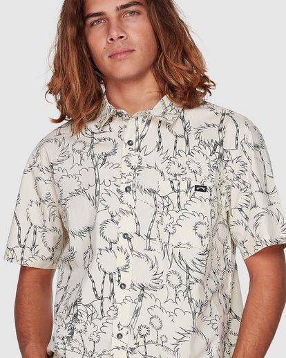 4 Dr. Seuss Truffula Short Sleeve Shirt Grey 9508220 Billabong