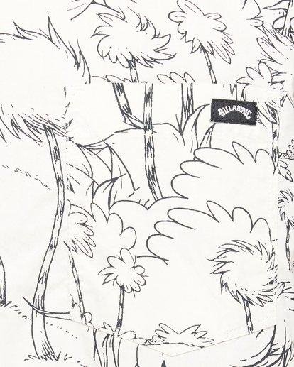 5 Dr. Seuss Truffula Short Sleeve Shirt Grey 9508220 Billabong