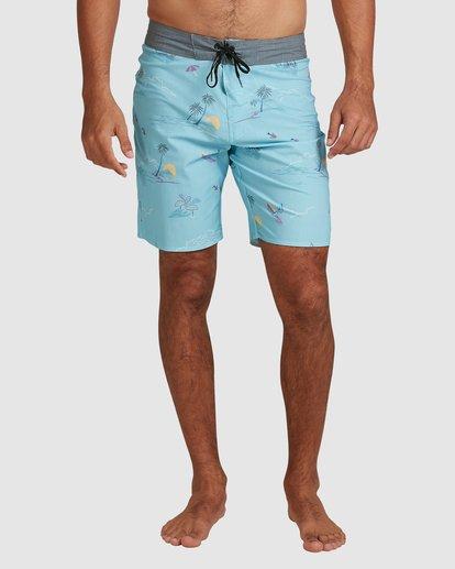 3 Sundays Pro Boardshorts Blue 9508406 Billabong