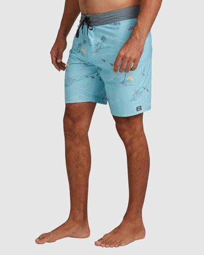 4 Sundays Pro Boardshorts Blue 9508406 Billabong