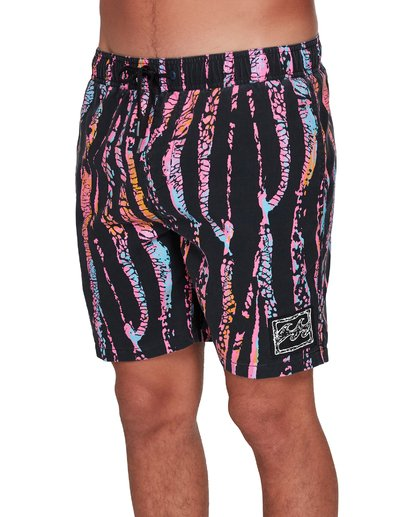 3 Sundays Layback Boardshorts Black 9508422 Billabong