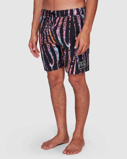 9 Sundays Layback Boardshorts Black 9508422 Billabong