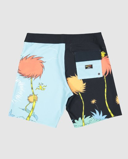 1 Dr. Seuss Lorax Sundays Pro Boardshorts Blue 9508430 Billabong