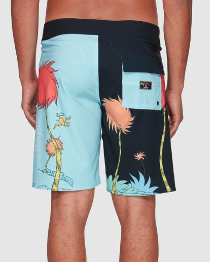 7 Dr. Seuss Lorax Sundays Pro Boardshorts Blue 9508430 Billabong