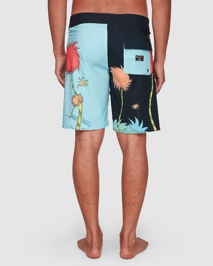 10 Dr. Seuss Lorax Sundays Pro Boardshorts Blue 9508430 Billabong