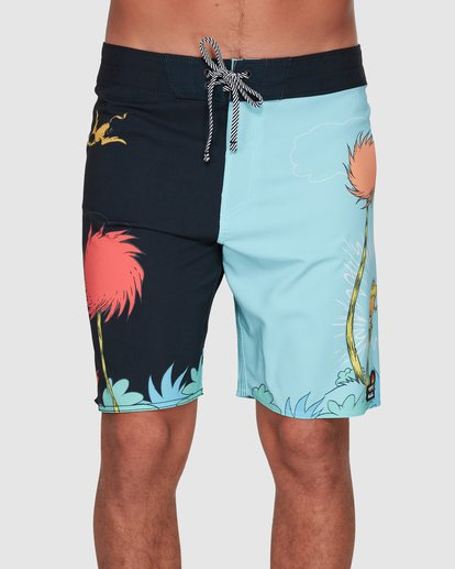 2 Dr. Seuss Lorax Sundays Pro Boardshorts Blue 9508430 Billabong