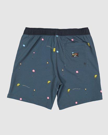 1 Dr. Seuss Lorax Mini Layback Boardshorts Grey 9508431 Billabong