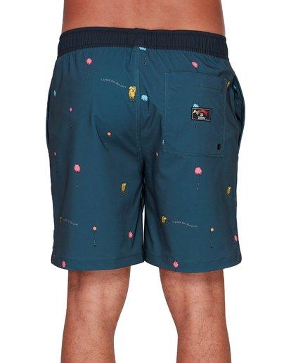4 Dr. Seuss Lorax Mini Layback Boardshorts Grey 9508431 Billabong