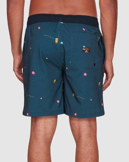7 Dr. Seuss Lorax Mini Layback Boardshorts Grey 9508431 Billabong
