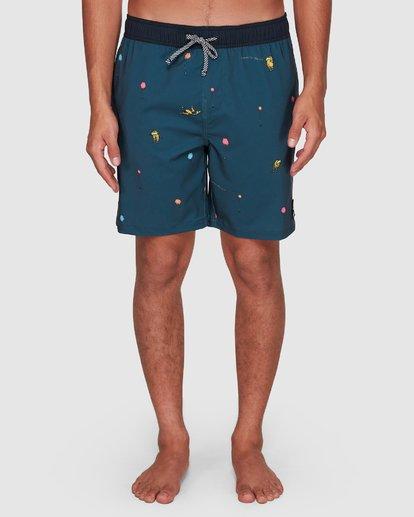 8 Dr. Seuss Lorax Mini Layback Boardshorts Grey 9508431 Billabong