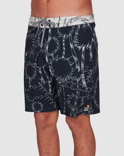 3 Dr. Seuss Lorax Sundays Lowtide Boardshorts Black 9508433 Billabong
