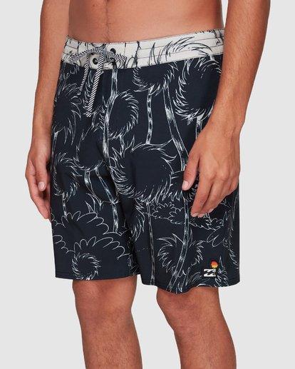 6 Dr. Seuss Lorax Sundays Lowtide Boardshorts Black 9508433 Billabong