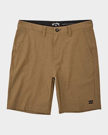0 Crossfire Twill Shorts Grey 9508716 Billabong
