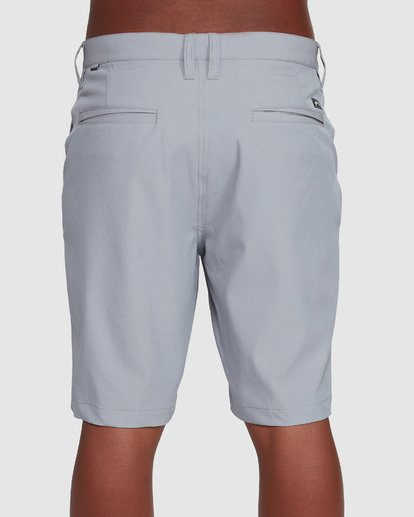 4 Crossfire Twill Shorts Grey 9508716 Billabong