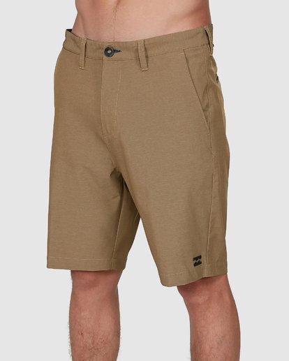 3 Crossfire Twill Shorts Grey 9508716 Billabong