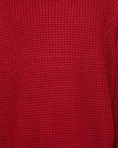 5 New Brighton Crew Knit Red 9508800 Billabong