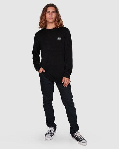 6 Middy Crew Knit Black 9508801 Billabong