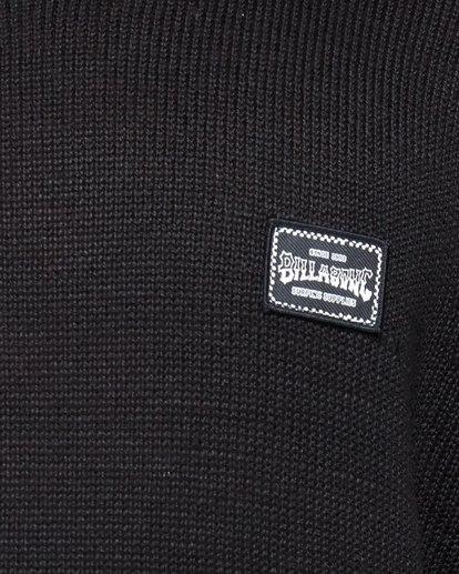 5 Middy Crew Knit Black 9508801 Billabong