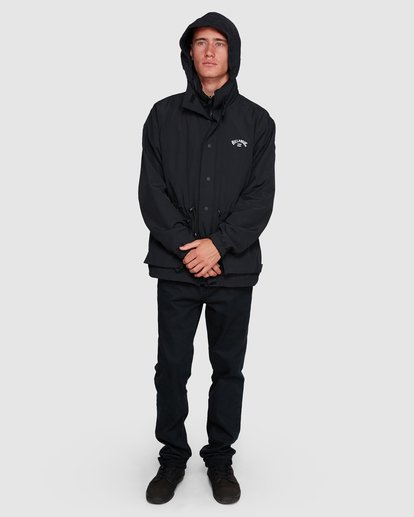 7 Gnar Reversible Jacket Black 9508900 Billabong