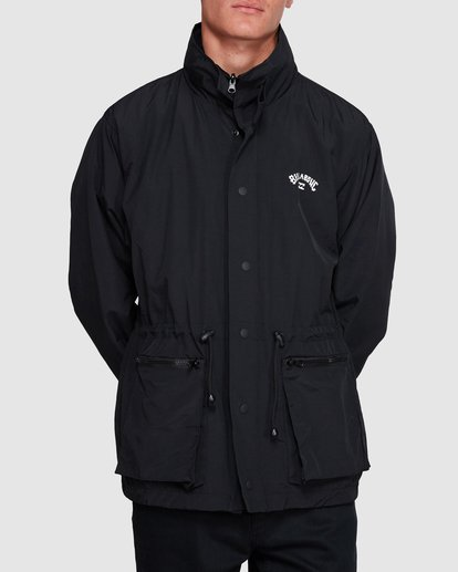 1 Gnar Reversible Jacket Black 9508900 Billabong