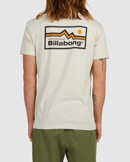 2 A/Div Denver Short Sleeve T-Shirt Blue 9513002 Billabong