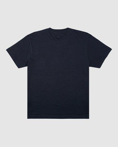 7 Budweiser Flag Short Sleeve T-Shirt Blue 9513010 Billabong