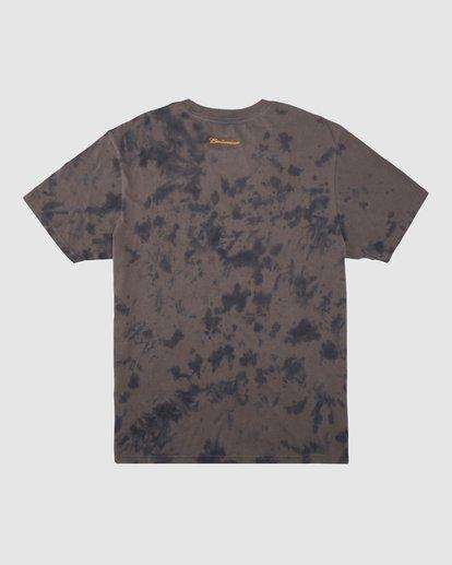7 Budweiser Bow Tie-Dye Short Sleeve T-Shirt Black 9513012 Billabong
