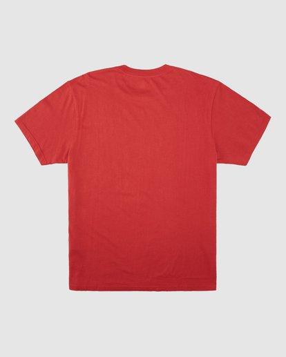 8 Wrangler Lands Short Sleeve Tee Red 9513015 Billabong