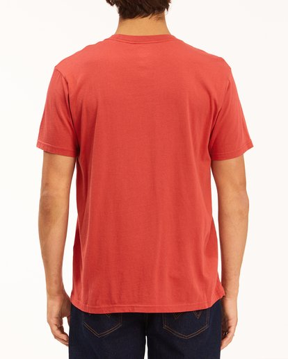 4 Wrangler Lands Short Sleeve Tee Red 9513015 Billabong