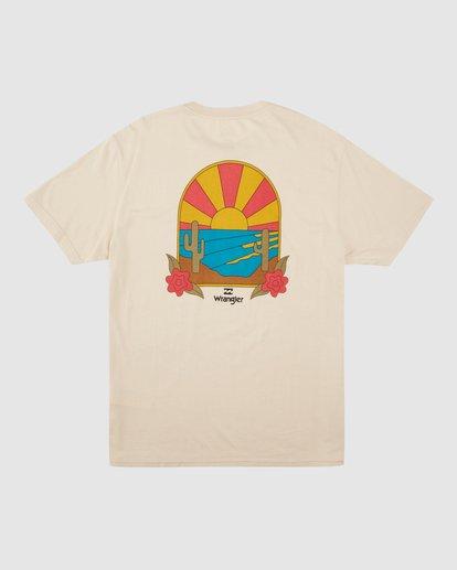 9 Wrangler Saguaro Short Sleeve Tee Beige 9513016 Billabong