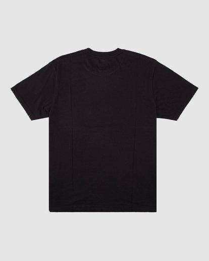 7 Wrangler Night Trip Short Sleeve Tee Black 9513017 Billabong