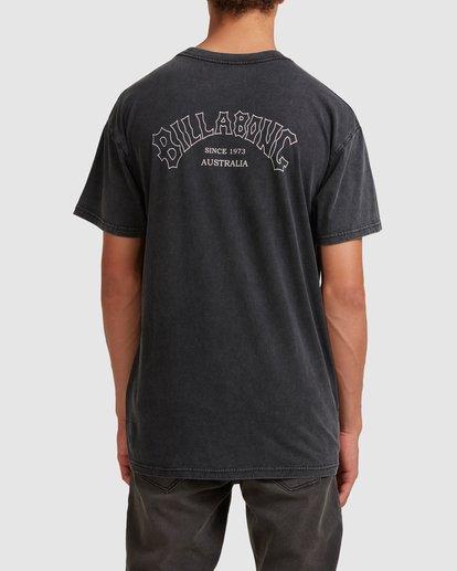2 Core Arch Short Sleeve Tee Black 9513021 Billabong