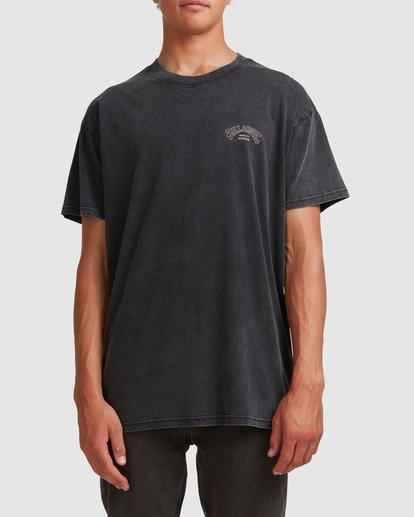 0 Core Arch Short Sleeve Tee Black 9513021 Billabong