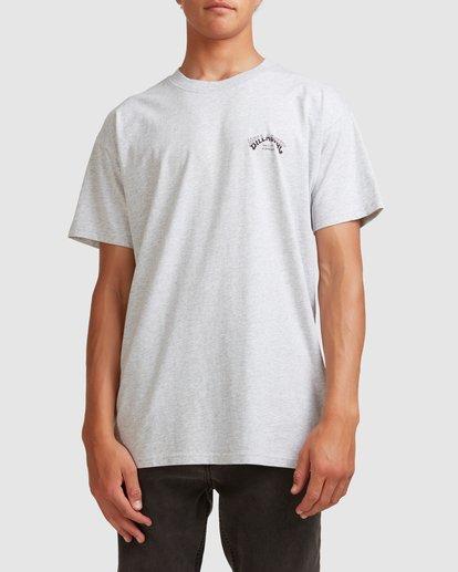 0 Core Arch Short Sleeve Tee Grey 9513021 Billabong