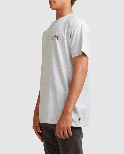 1 Core Arch Short Sleeve Tee Grey 9513021 Billabong