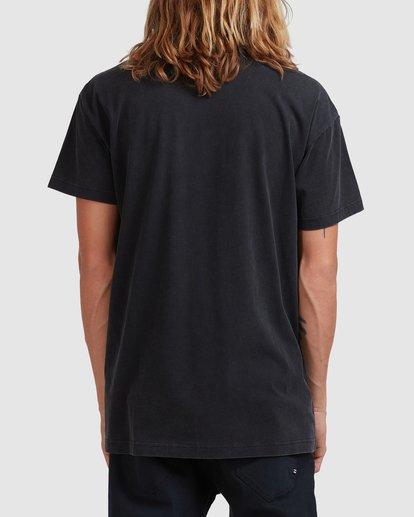 2 Crossed Up Short Sleeve Tee Black 9513022 Billabong