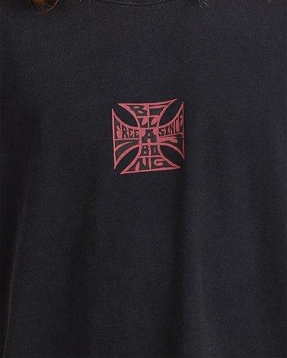 3 Crossed Up Short Sleeve Tee Black 9513022 Billabong